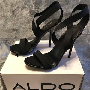 Aldo - Black Strappy Heel 🖤